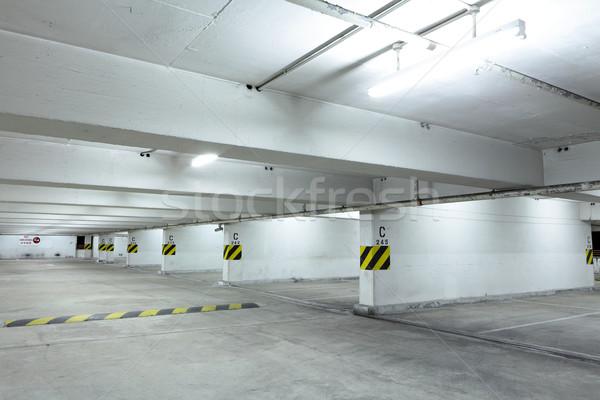 Autó parkolóhely épület fény szoba városi Stock fotó © leungchopan