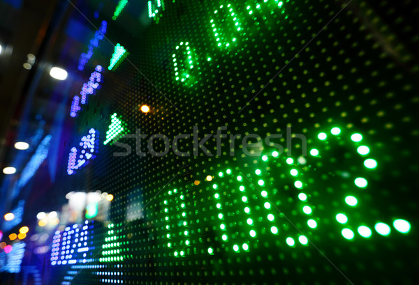 Stock market price increase Stock photo © leungchopan