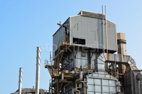 industrial plant Stock photo © leungchopan