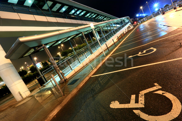 overpass specially for the wheelchair people Stock photo © leungchopan