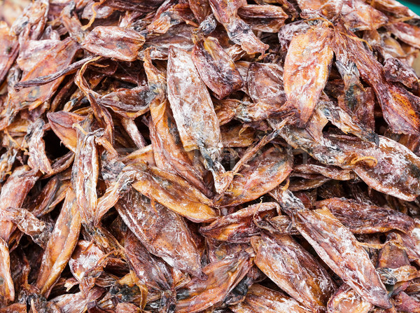 Dried squid Stock photo © leungchopan