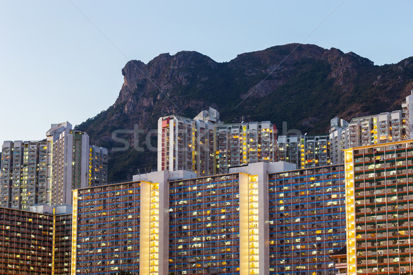 Kowloon residential district Stock photo © leungchopan