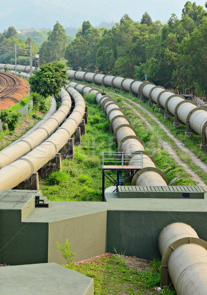 pipelines Stock photo © leungchopan