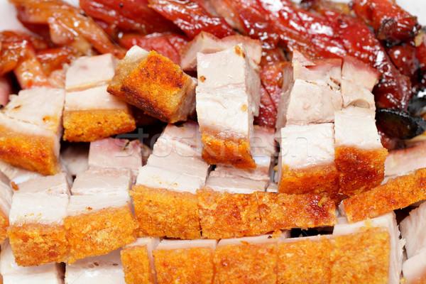 китайский продовольствие мяса утки есть барбекю еды Сток-фото © leungchopan