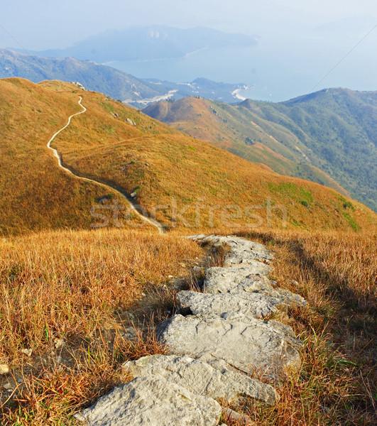 Stock photo: mountain path