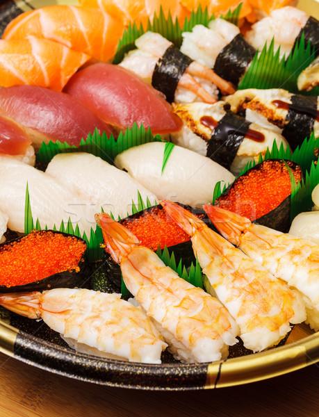 Japanese sushi takeaway Stock photo © leungchopan
