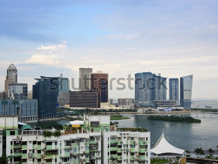 Macau skyline Stock photo © leungchopan