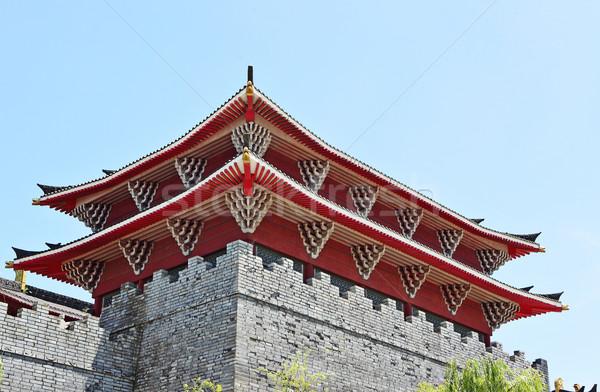 chinese building Stock photo © leungchopan