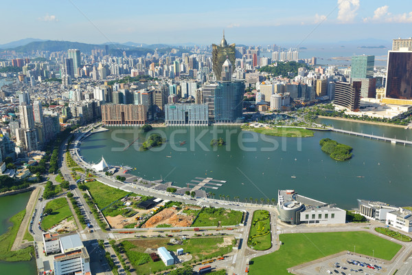 Macau city view Stock photo © leungchopan
