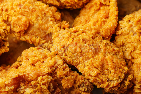 Fried chicken take away Stock photo © leungchopan