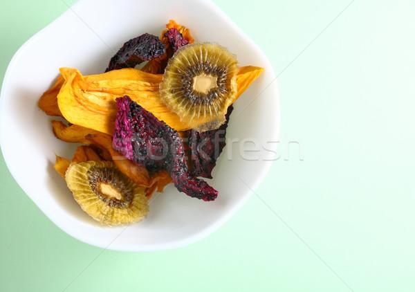 Secas frutas soprar comida fruto saúde Foto stock © leungchopan