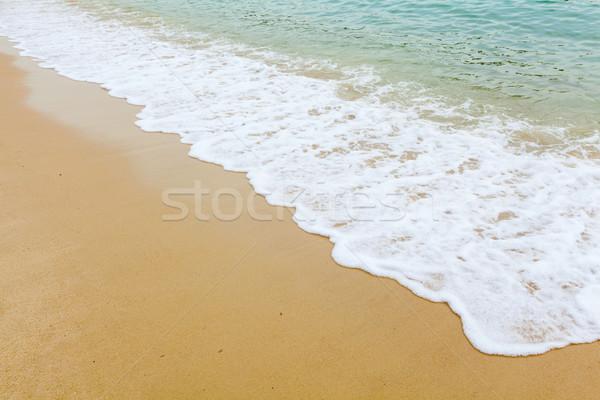 Beautiful beach Stock photo © leungchopan