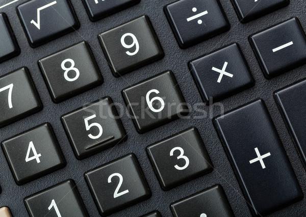 Calculator close up Stock photo © leungchopan