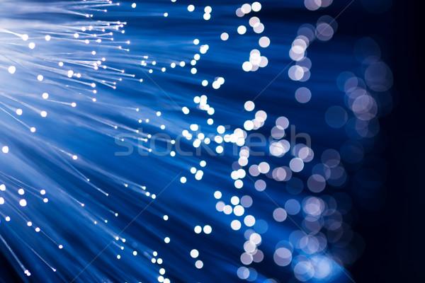 Fiber optical  Stock photo © leungchopan