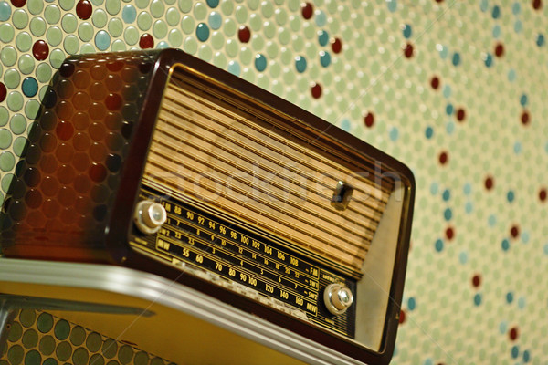 retro radio Stock photo © leungchopan