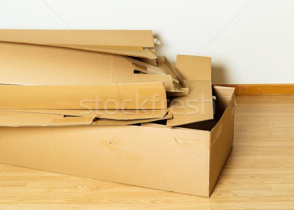 Used carton box Stock photo © leungchopan