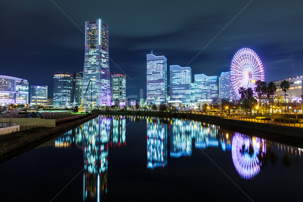 Stockfoto: Yokohama · stad · Japan · business · gebouw · zee