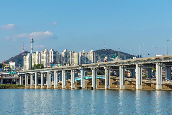 Seoul City South Korea  Stock photo © leungchopan
