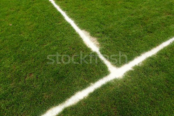 ストックフォト: フットボールの競技場 · 行 · サッカー · 自然 · 風景 · スポーツ