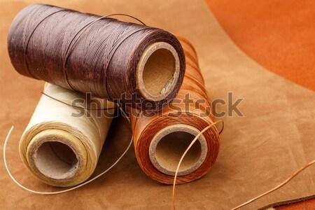 Leather craft tool Stock photo © leungchopan
