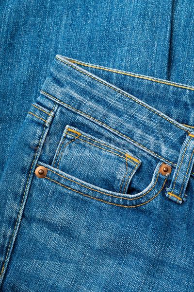 Jeans pocket Stock photo © leungchopan