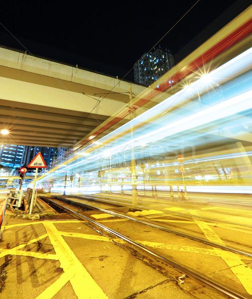 свет как город бизнеса дороги аннотация Сток-фото © leungchopan