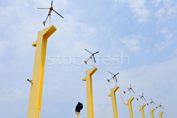 Wind Energy Technology Stock photo © leungchopan