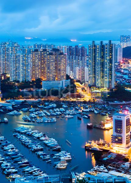 Hong Kong seaside Stock photo © leungchopan