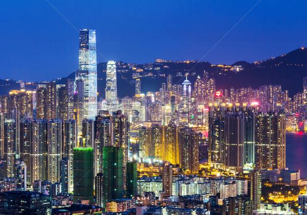 Hong Kong city Stock photo © leungchopan