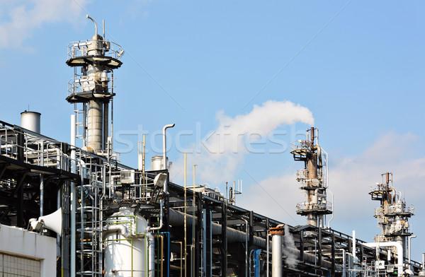 Gas industry Stock photo © leungchopan