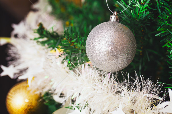 Christmas tree Stock photo © leungchopan