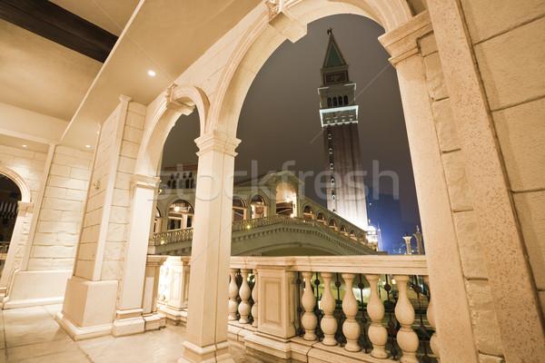 Foto d'archivio: Corridoio · italiana · costruzione · stile · casa · città