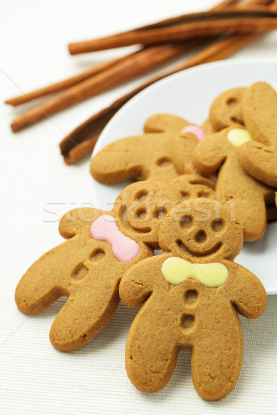 Stock photo: gingerbread men