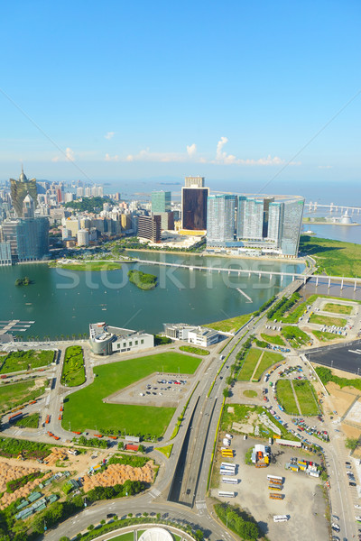 macao city view Stock photo © leungchopan