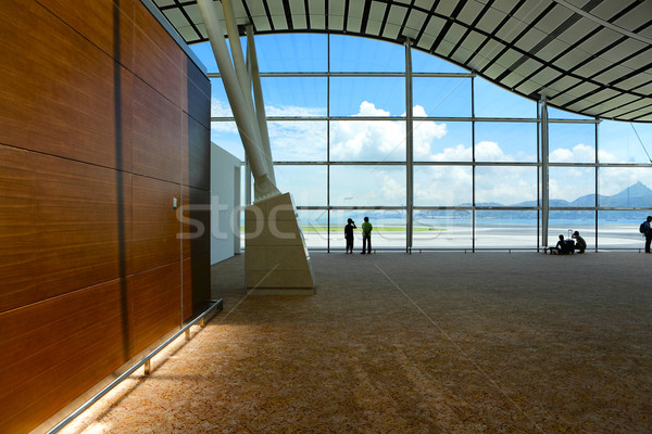 Сток-фото: стекла · стены · бизнеса · служба · здании · комнату