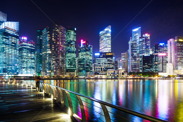 Urban cityscape in Singapore  Stock photo © leungchopan