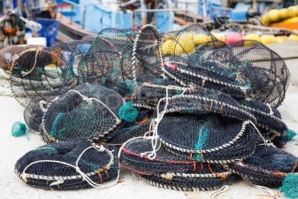 захват текстуры морем океана зеленый промышленности Сток-фото © leungchopan