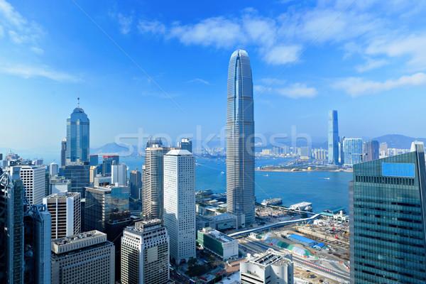 Гонконг бизнеса служба здании город аннотация Сток-фото © leungchopan