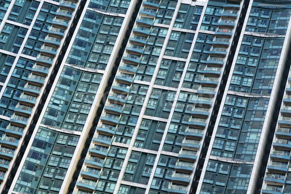 Blocks of flats Stock photo © leungchopan