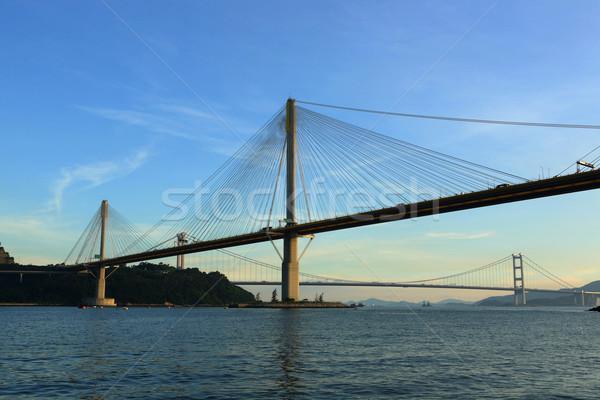 Ting Kau Bridge Stock photo © leungchopan