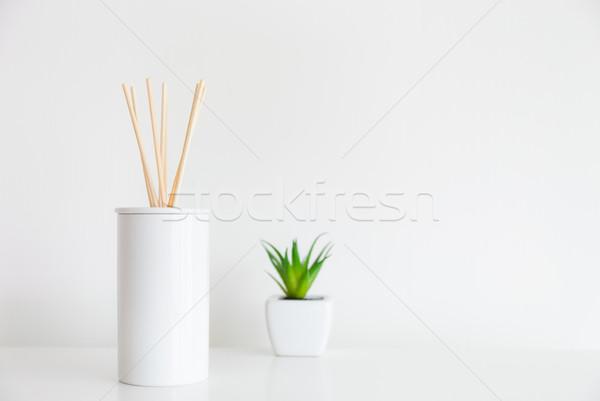 House diffuser and green plant Stock photo © leungchopan
