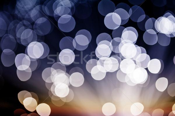 Blue Festive Christmas elegant Stock photo © leungchopan