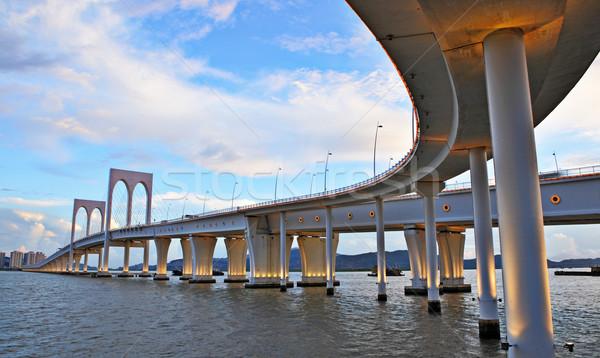 Sai Van bridge in Macao Stock photo © leungchopan