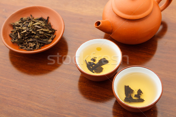 Chinese tea ceremony Stock photo © leungchopan