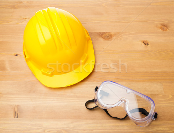 Standard construction safety equipment  Stock photo © leungchopan