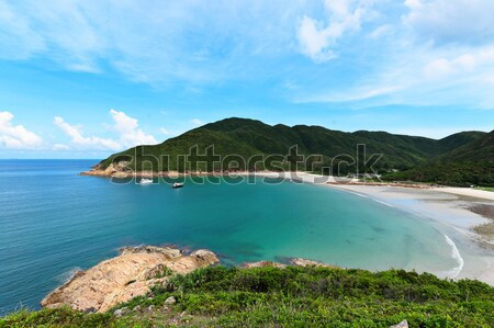 Sai Wan bay in Hong Kong Stock photo © leungchopan