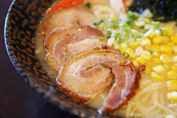 Japan Ramen noodle Stock photo © leungchopan