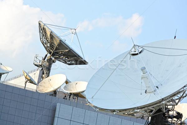 satellite dish Stock photo © leungchopan