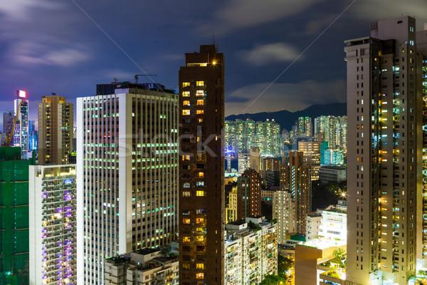 Beautiful HongKong cityscape Stock photo © leungchopan