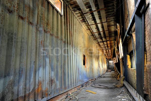 discarded building, flyover Stock photo © leungchopan